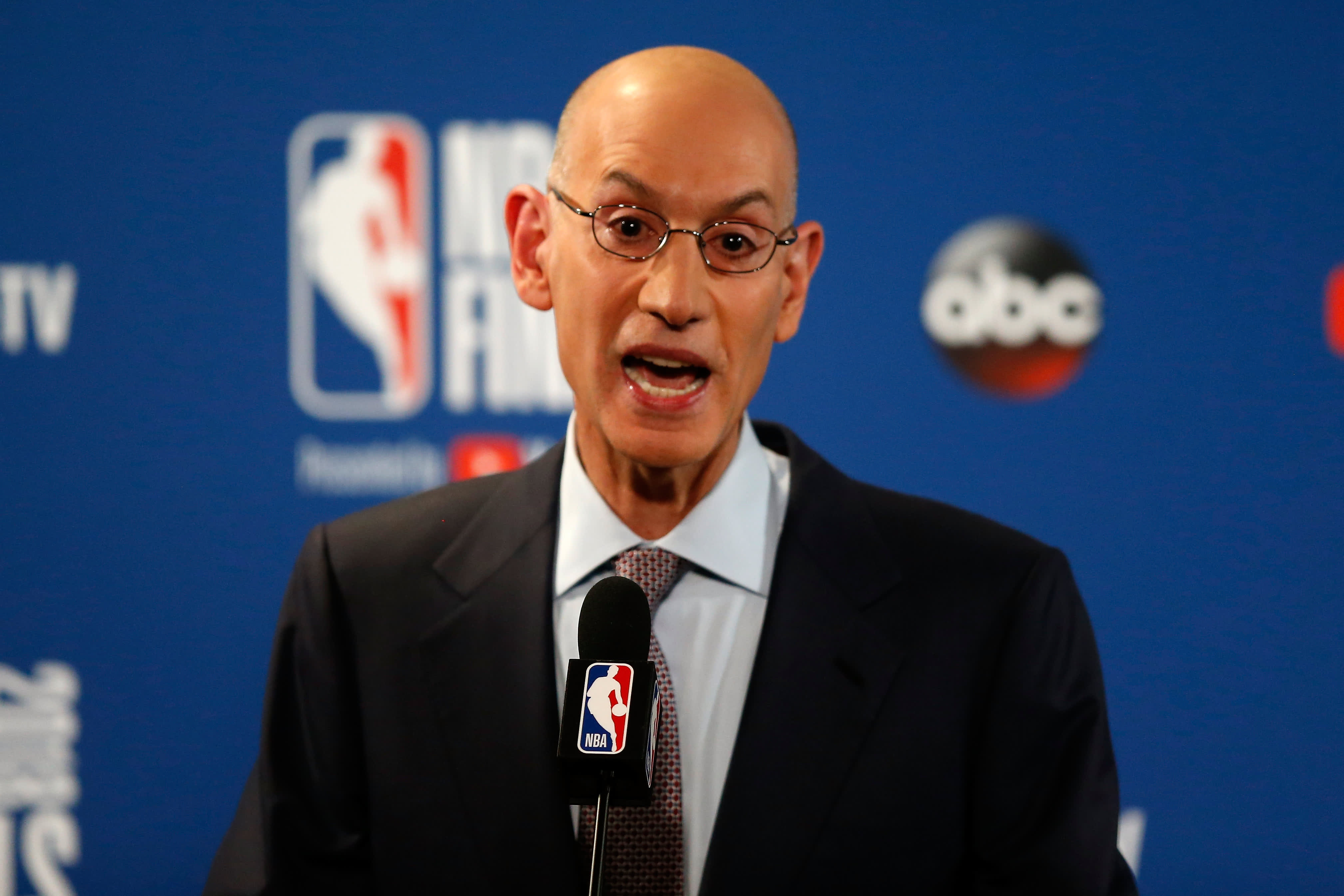 Adam Silver says NBA won't compromise its values, to discuss situation in China visit