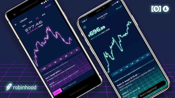 trading bitcoin on robinhood