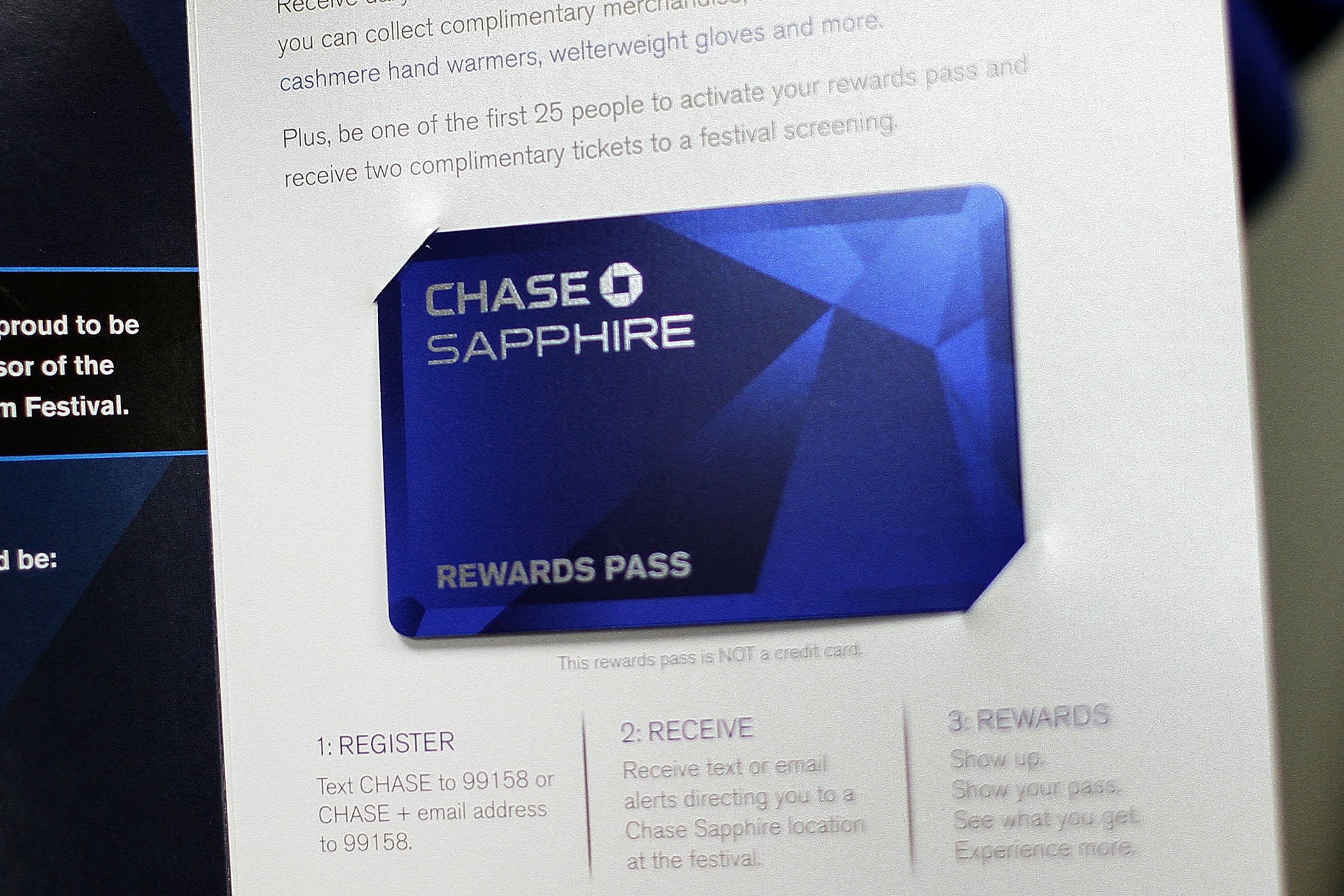 JP Morgan bets that Sapphire card fans will sign up for bank