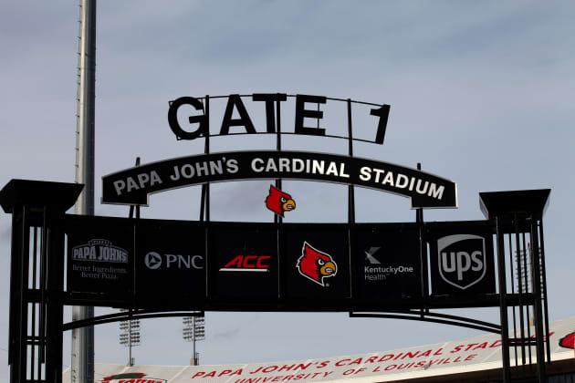 33e82f60ee1 University of Louisville removes Papa John s name from football stadium