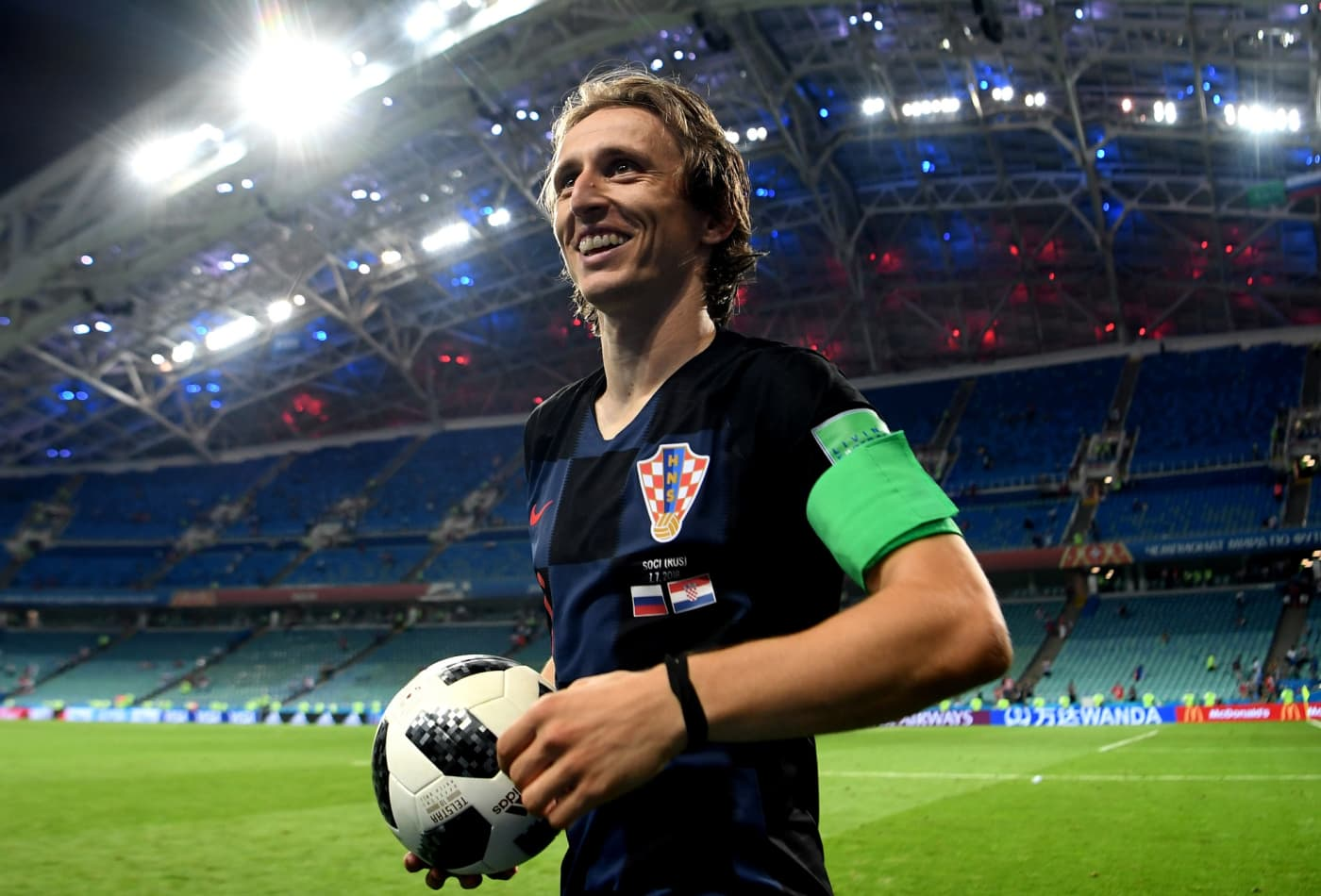 lowest price 1618a 0d85d Luka Modric wins the Ballon d'Or, beating out Cristiano Ronaldo