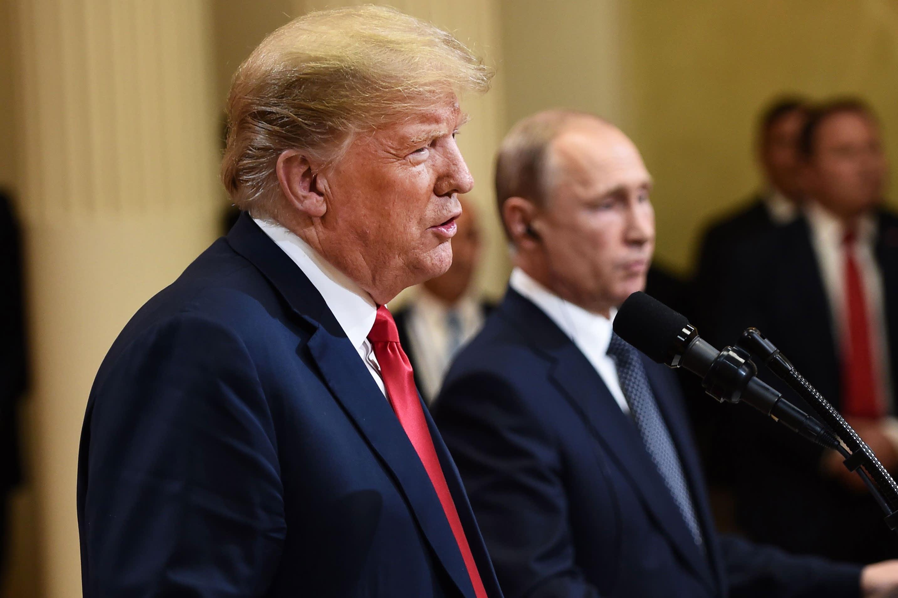 'Very dangerous': Putin, Trump want to weaken the European Union, top EU official says