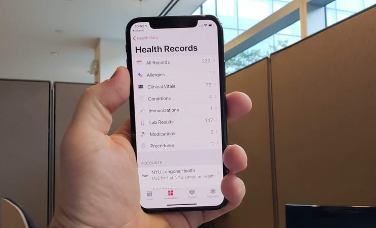 CNBC Tech: Apple Health Records