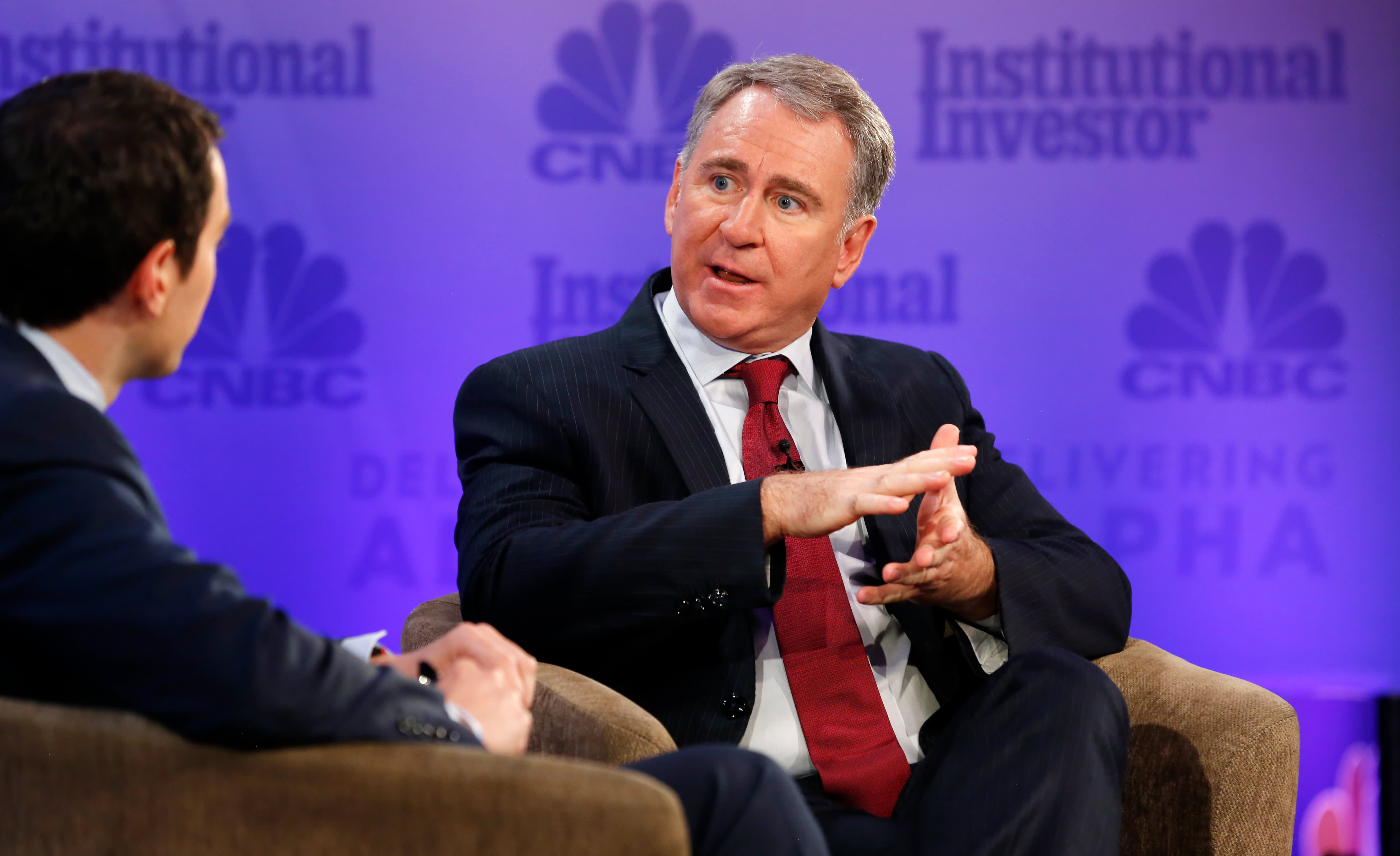 Citadel's Ken Griffin: Blue states must cut taxes