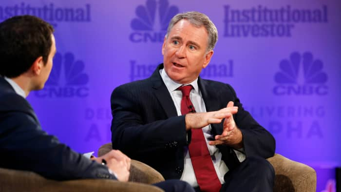 Ken Griffin says he doesn't see the 'economic underpinning' of cryptocurrencies