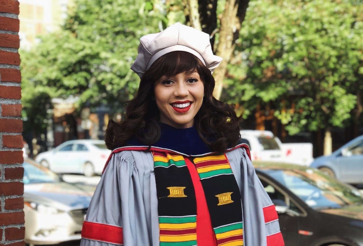 30-year-old Mareena Robinson Snowden is the first black woman to earn a PhD in nuclear engineering from MIT