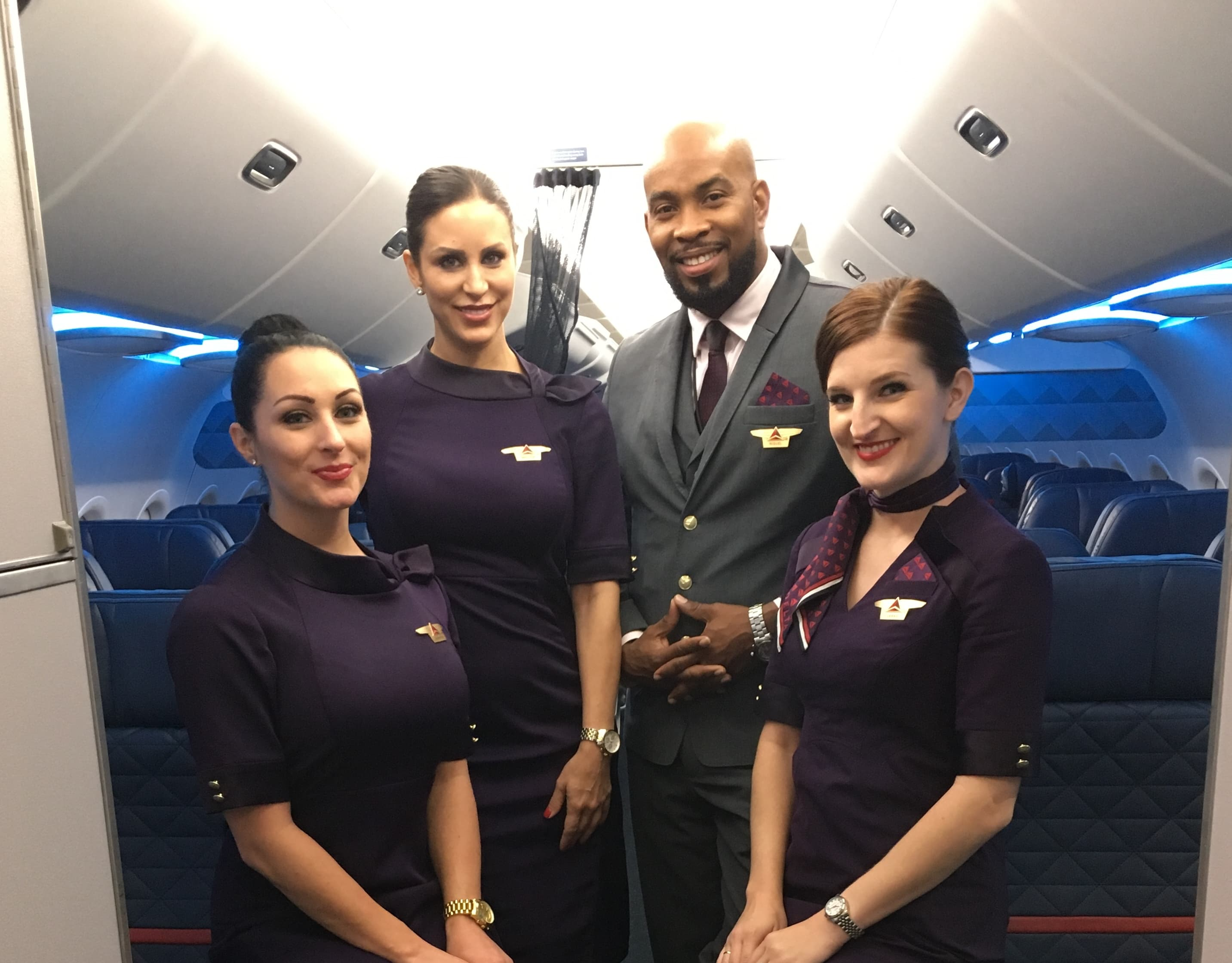 I shadowed a flight attendant—here's what it's like to lead