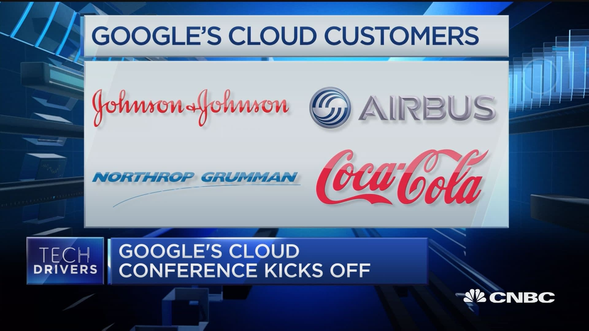 Google's cloud conference kicks off