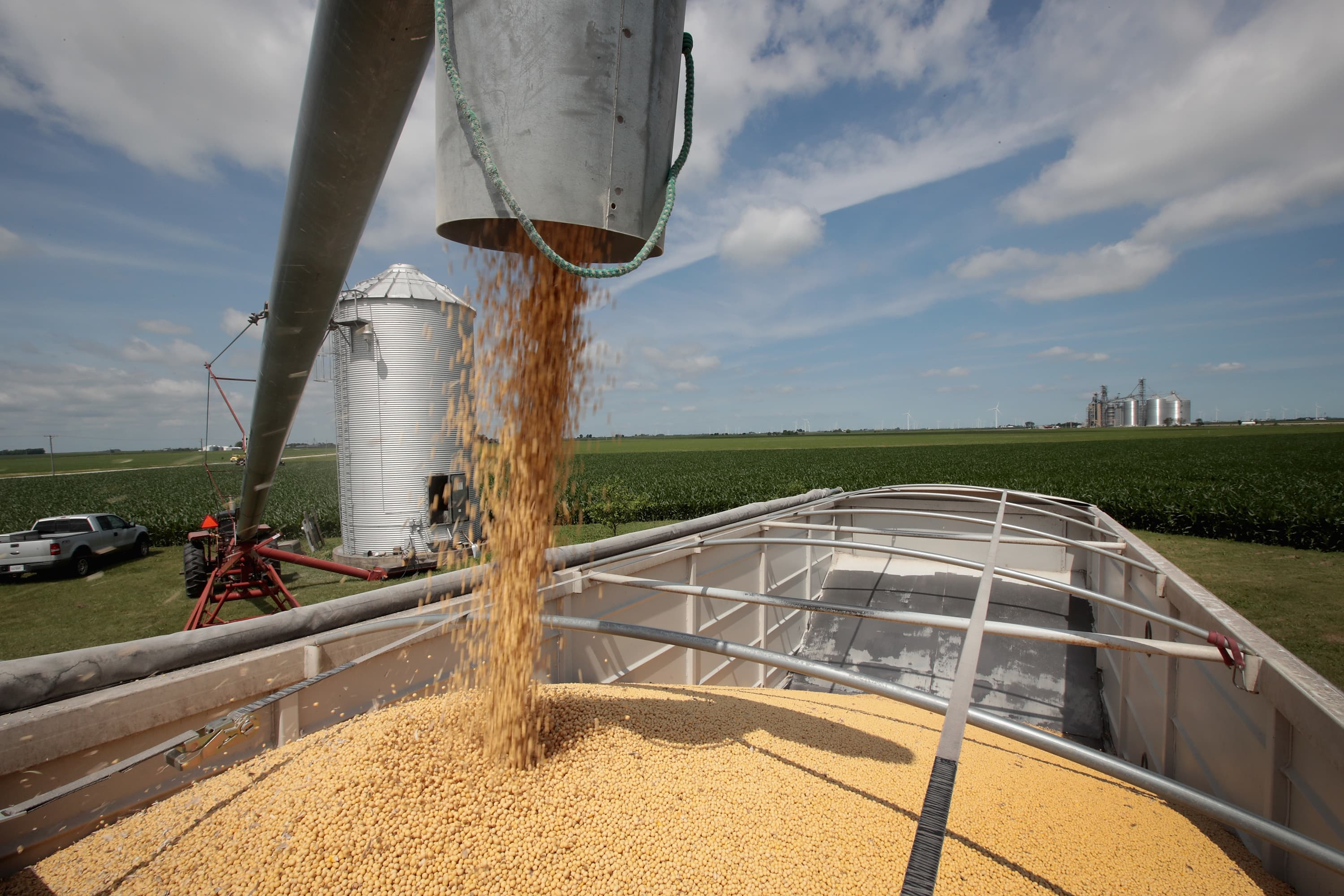 Partial trade deal will help US soybean farmers retake Chinese market share, trade group executive says