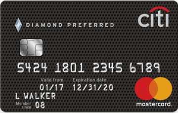 Credit card: Citi Diamond Preferred