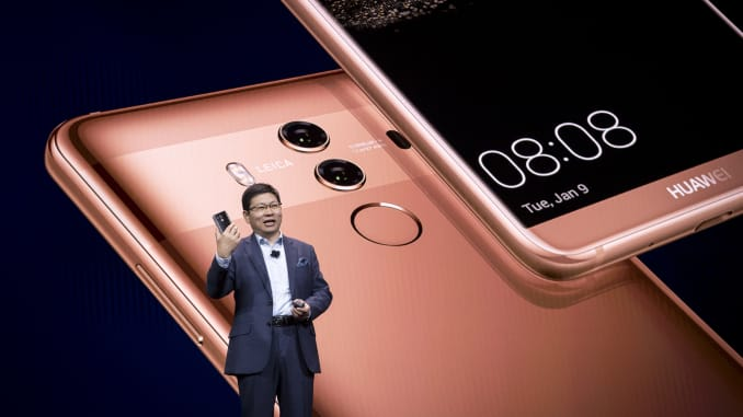 Huawei beats Apple to become number two smartphone seller