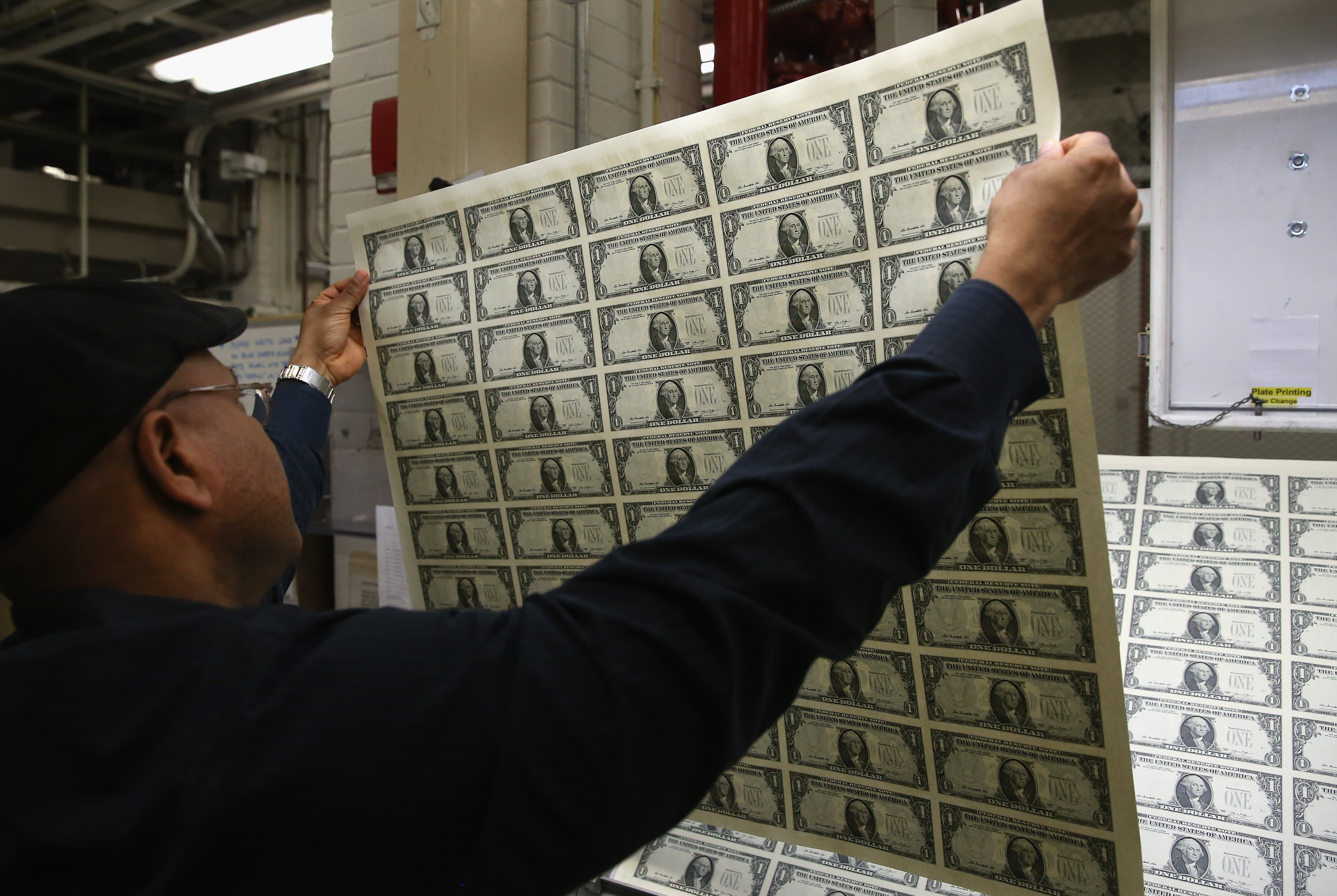 Spike the US dollar's obit: Cash is still a growth business