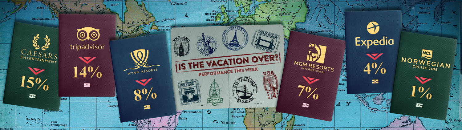 CNBC: Vacation Over graphic