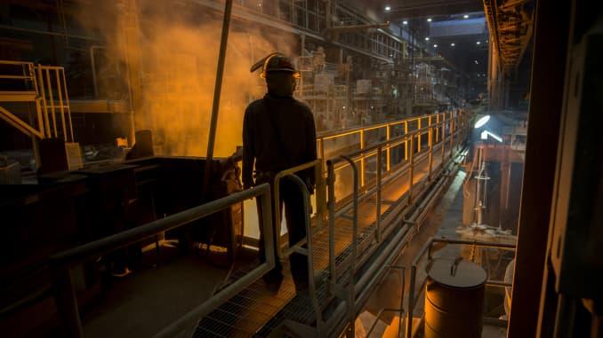 NYT:Nucor Steel plant in Huger, S.C.