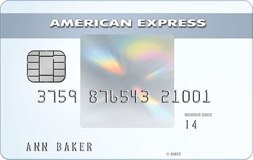 Credit Cards: Amex everyday card