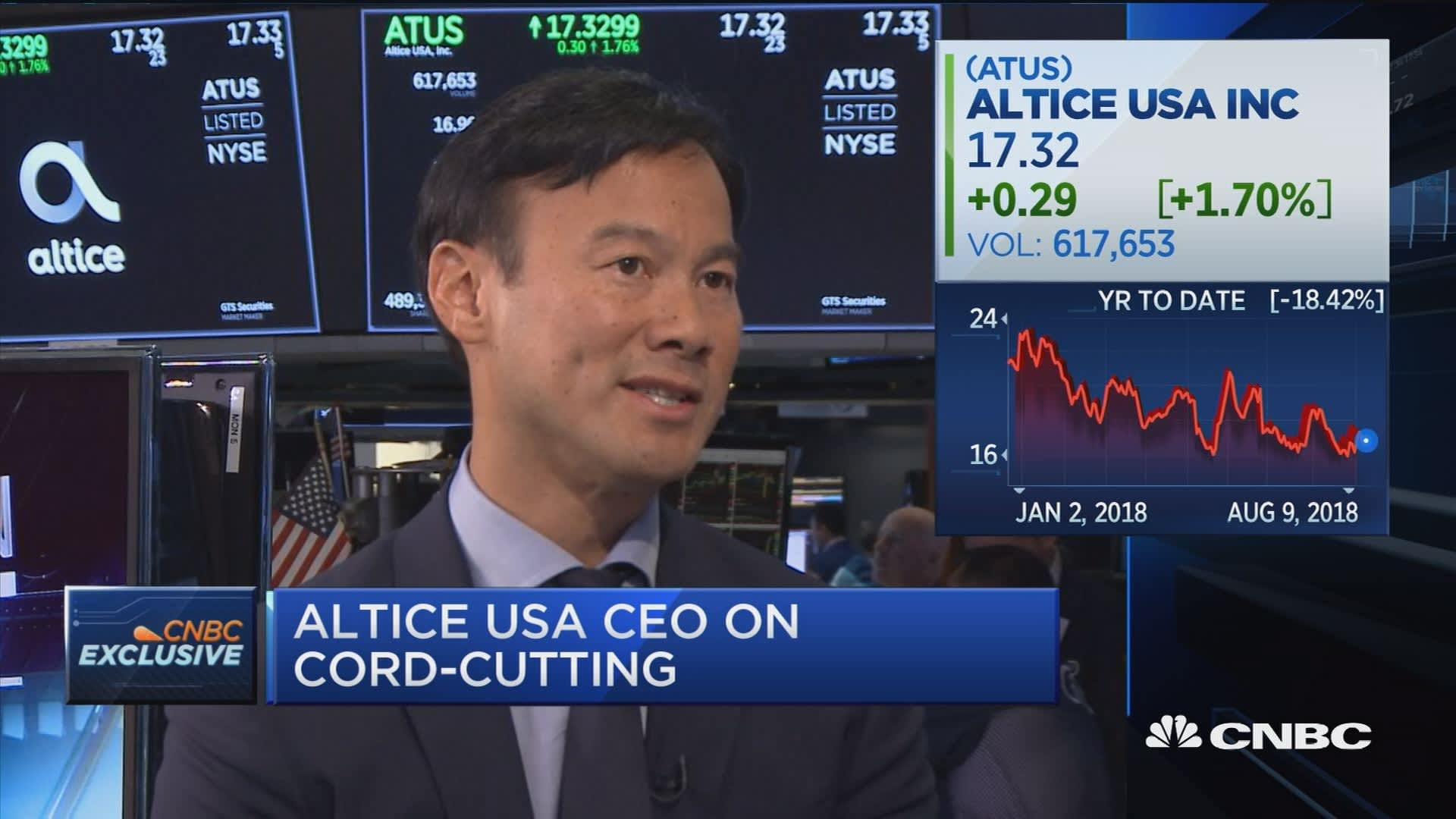 Here's why Altice USA just dropped $200 million on streaming video start-up Cheddar