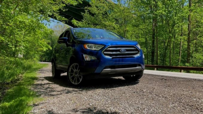 2020 Ford Ecosport Compact Suv Available 4wd And Awd