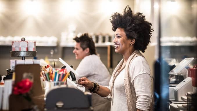 GP: woman entrepreneur, small businessowner