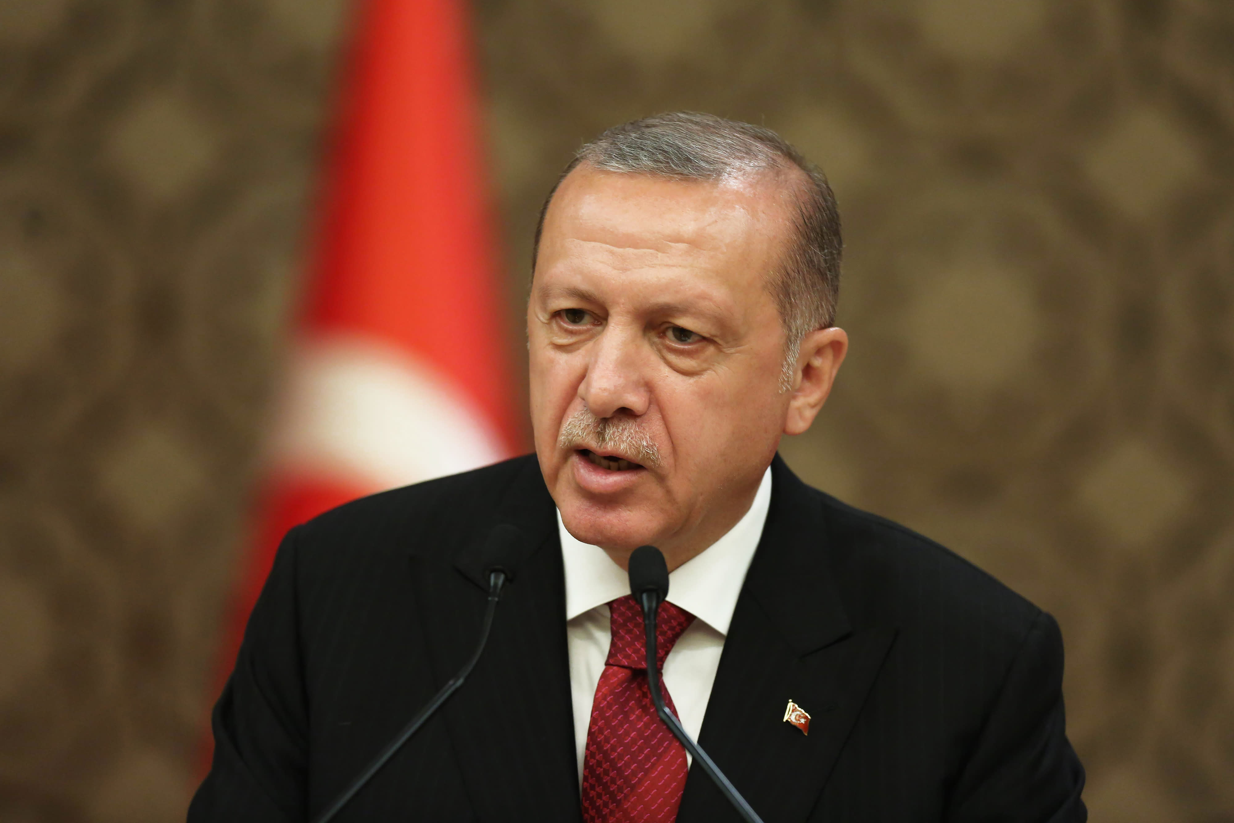 Erdogan reportedly said Turkey may face 'serious problems' if the central bank is not overhauled