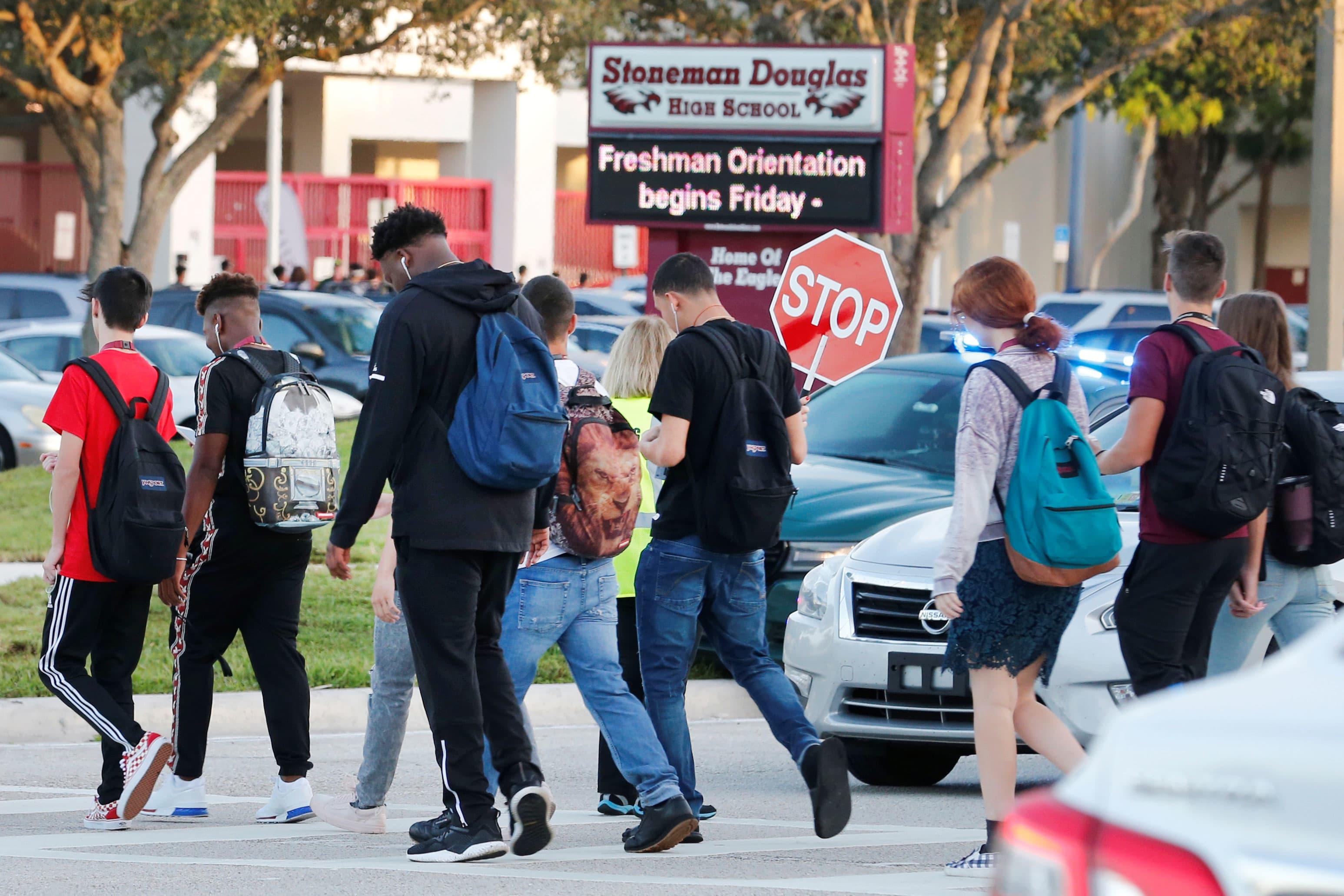 3cf438f380f6 Demand for bulletproof backpacks soar amid fear of school shootings