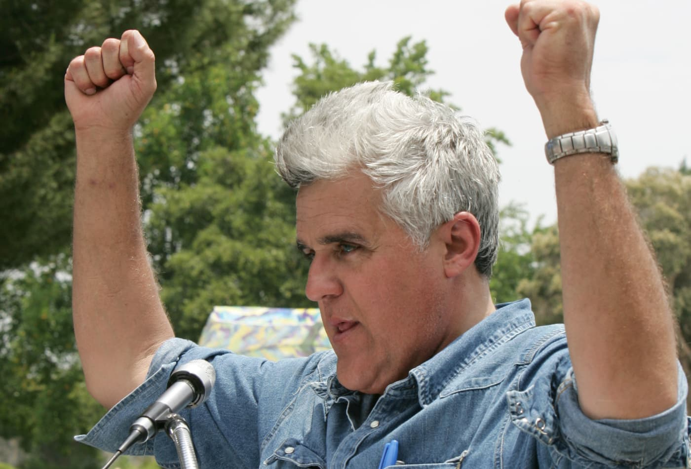 Jay Leno loves his Tesla: 'There's almost no reason to have a gas car'