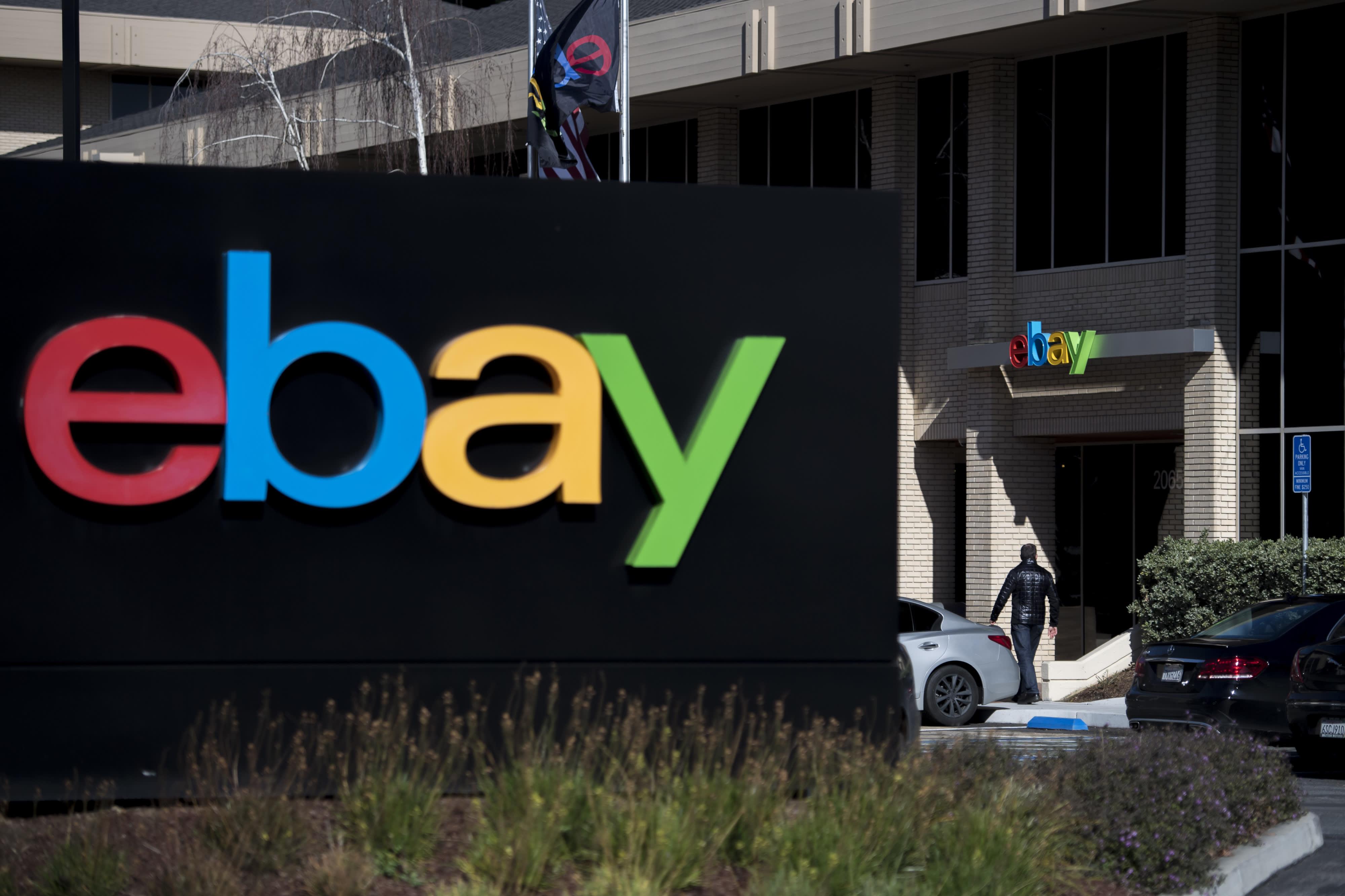 eBay shares surge on Elliott Management $1 4 billion stake
