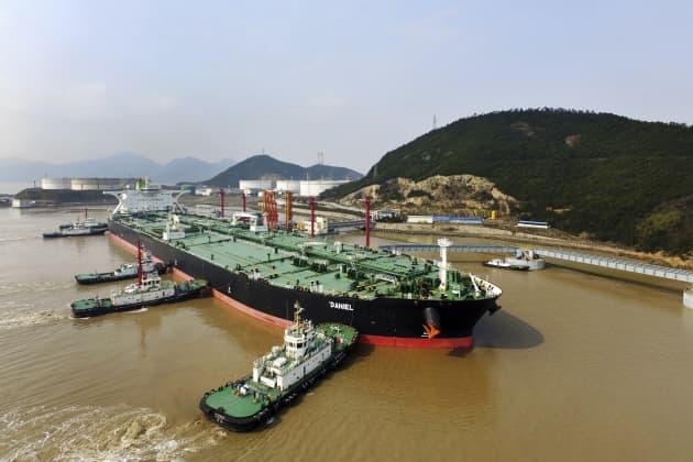AP: Iran oil tanker in China