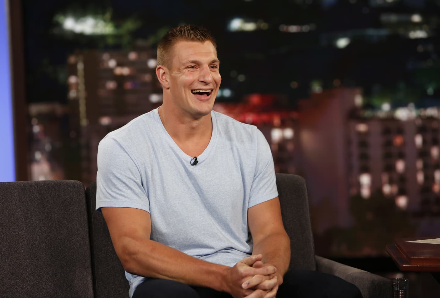 Nfl Star Rob Gronkowski Makes 8 Million But Still Has A