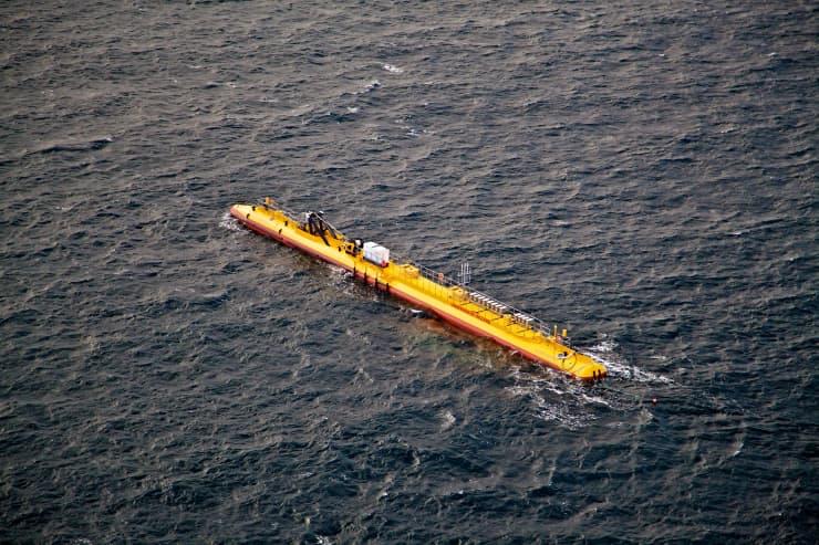H/O - floating tidal turbine Orkney