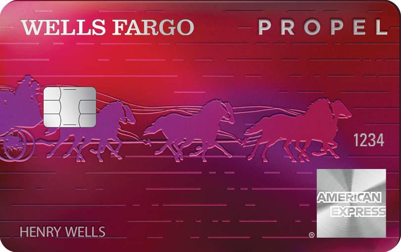 Credit card: Propel Wells Fargo