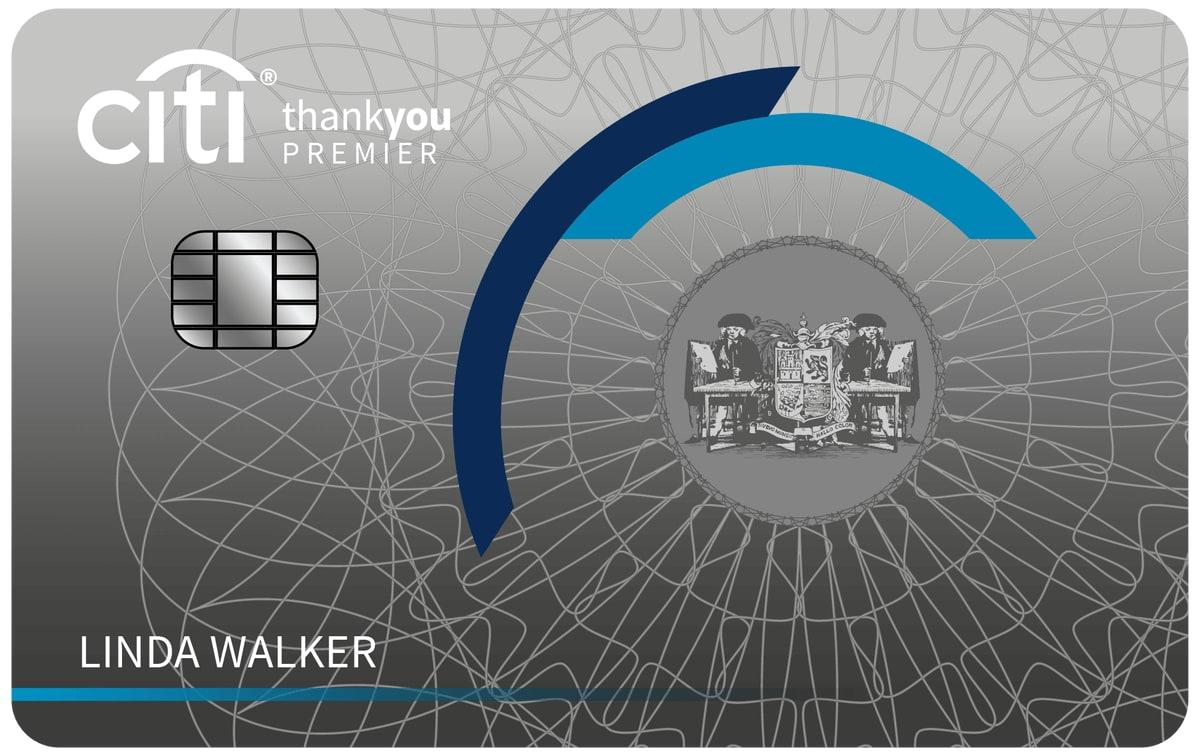 Credit card: Citi ThankYou Premier