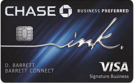 Credit card: Chase Ink Preferred
