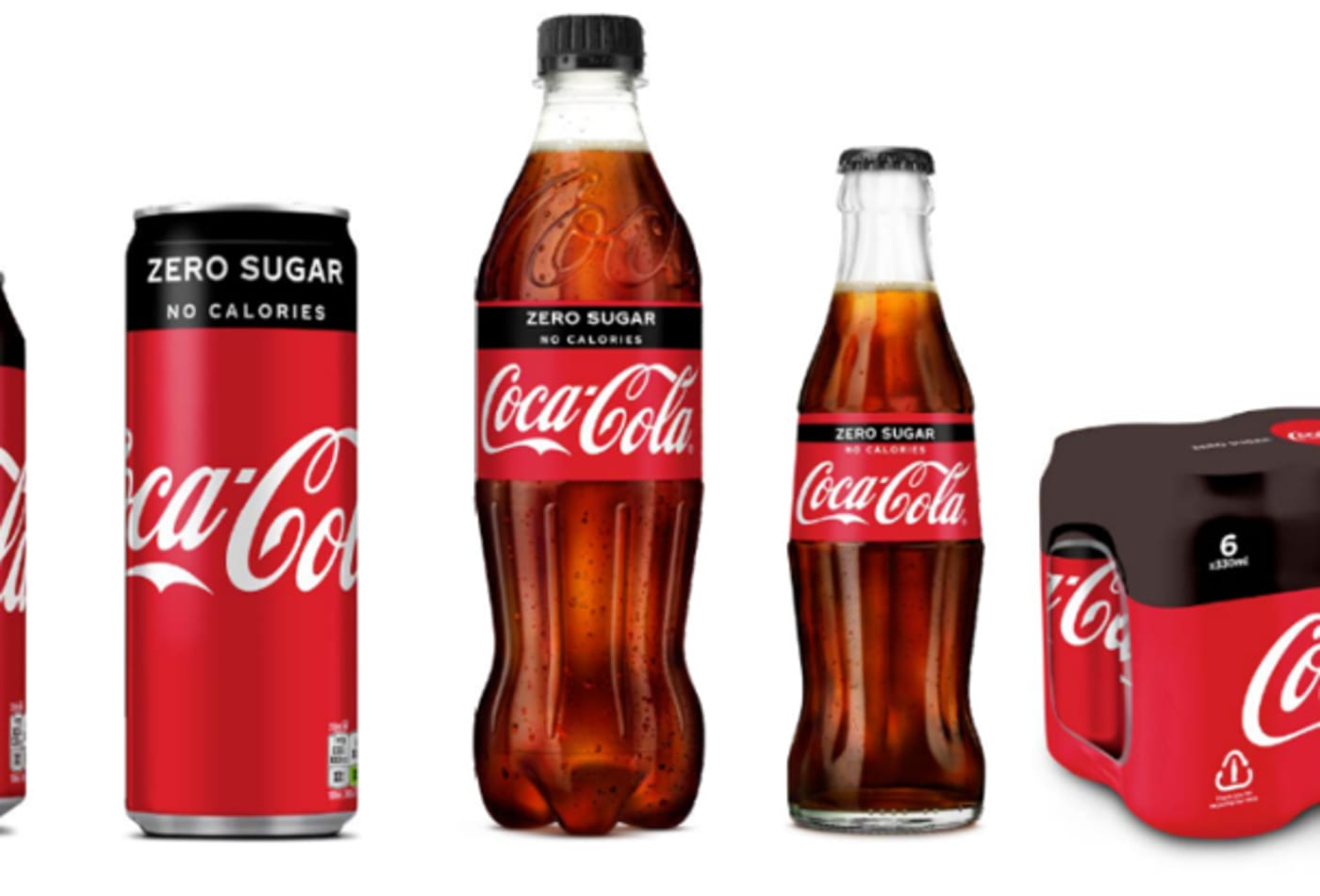 Coca-Cola UK redesigns Zero packaging to look like the