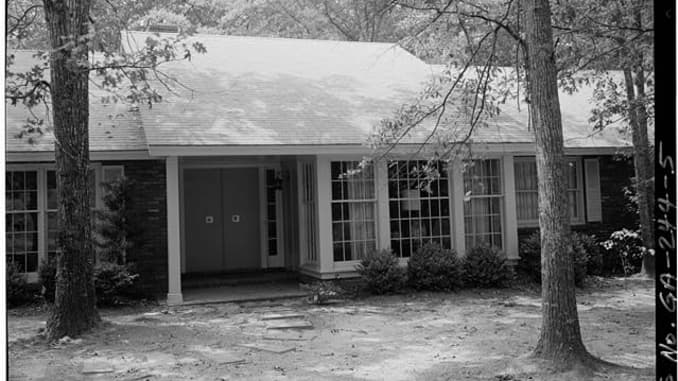 Jimmy Carter lives in a $167,000 house