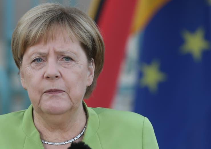 GP: German Chancellor Angela Merkel in Gransee