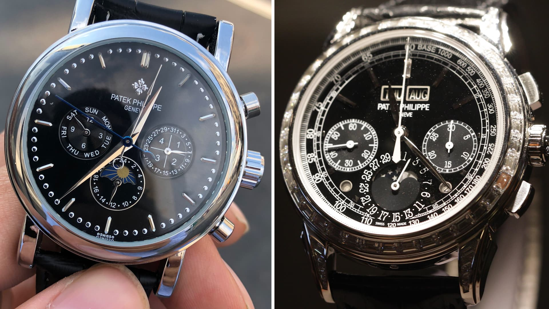 I shopped for a $260,000 Patek Philippe and compared a $60
