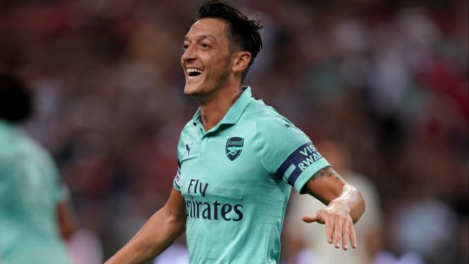 GP: Mesut Ozil of Arsenal