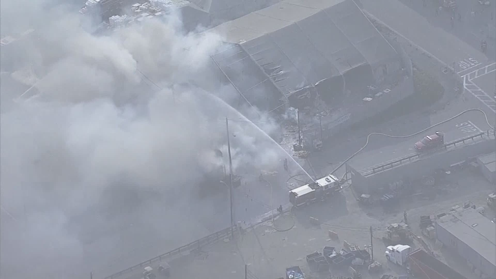 Tesla says Fremont factory running normally after fire