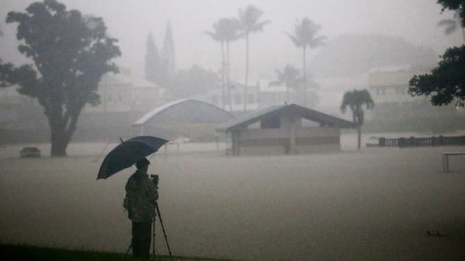 Tropical storm Lane threatens more Hawaii floods before