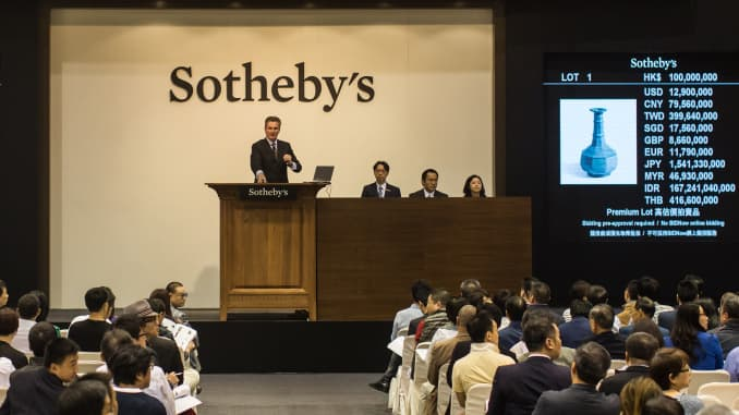 Sotheby's to be taken private by group owned by art