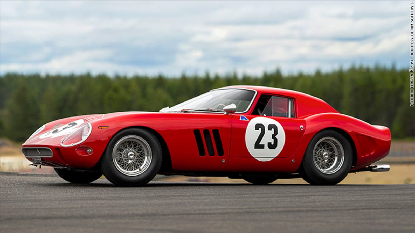 Ferrari Fetches 48 Million At Auction As Most Expensive Car Ever Sold
