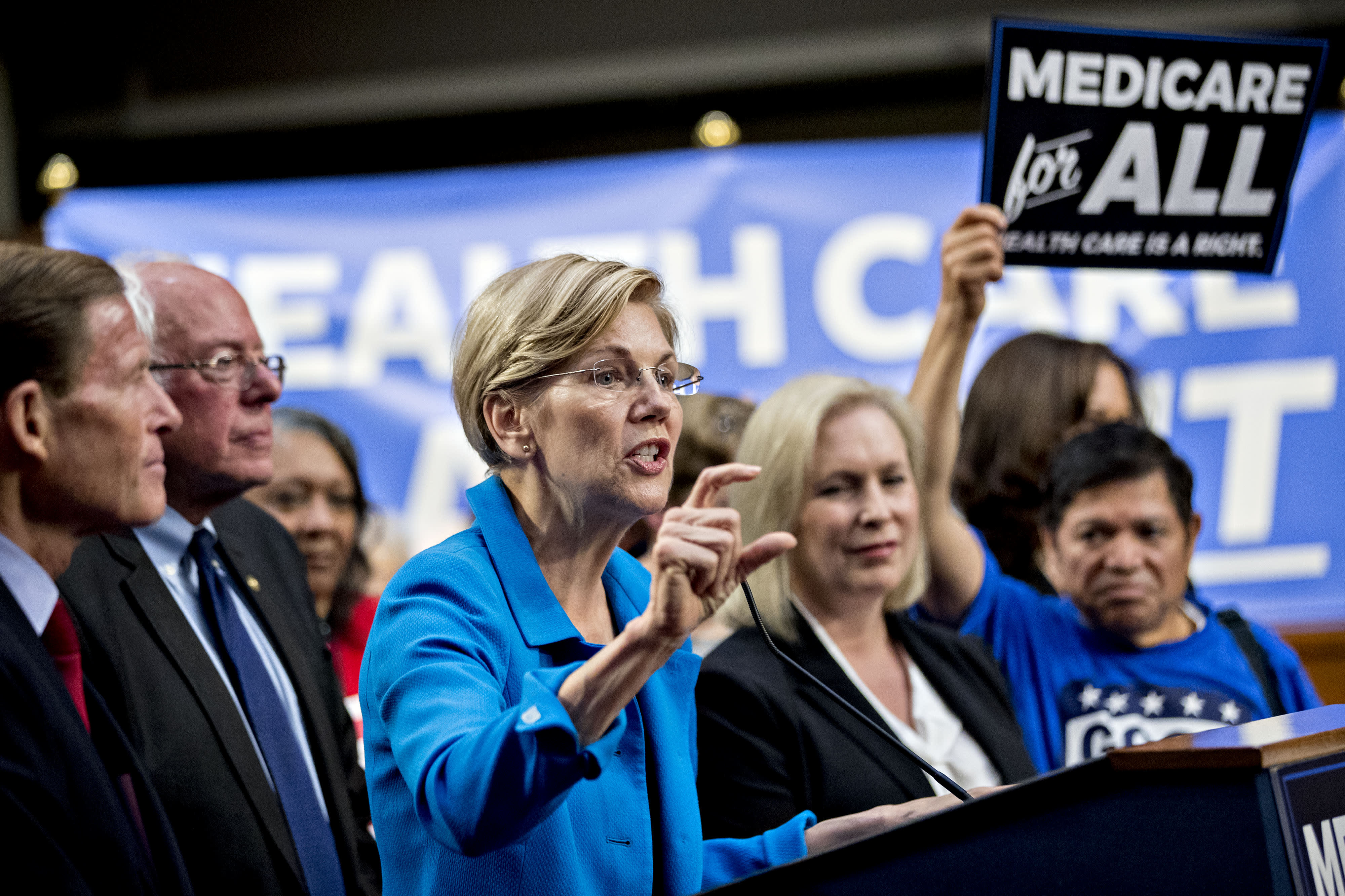 Elizabeth Warren releases plan to transition to 'Medicare for All' in her first term