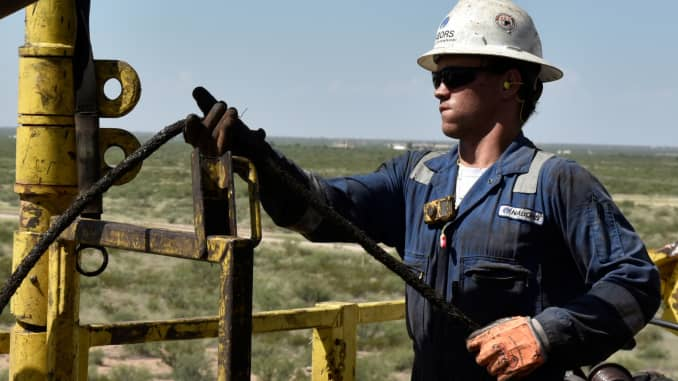 US Deputy Energy Secretary Dan Brouillette on US oil and