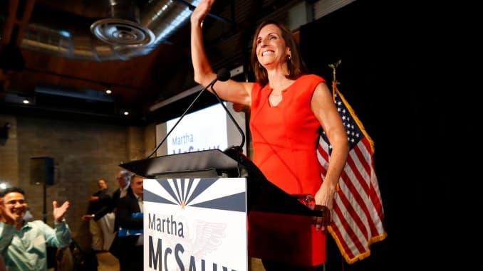 Trump endorses Martha McSally in Arizona Senate race against