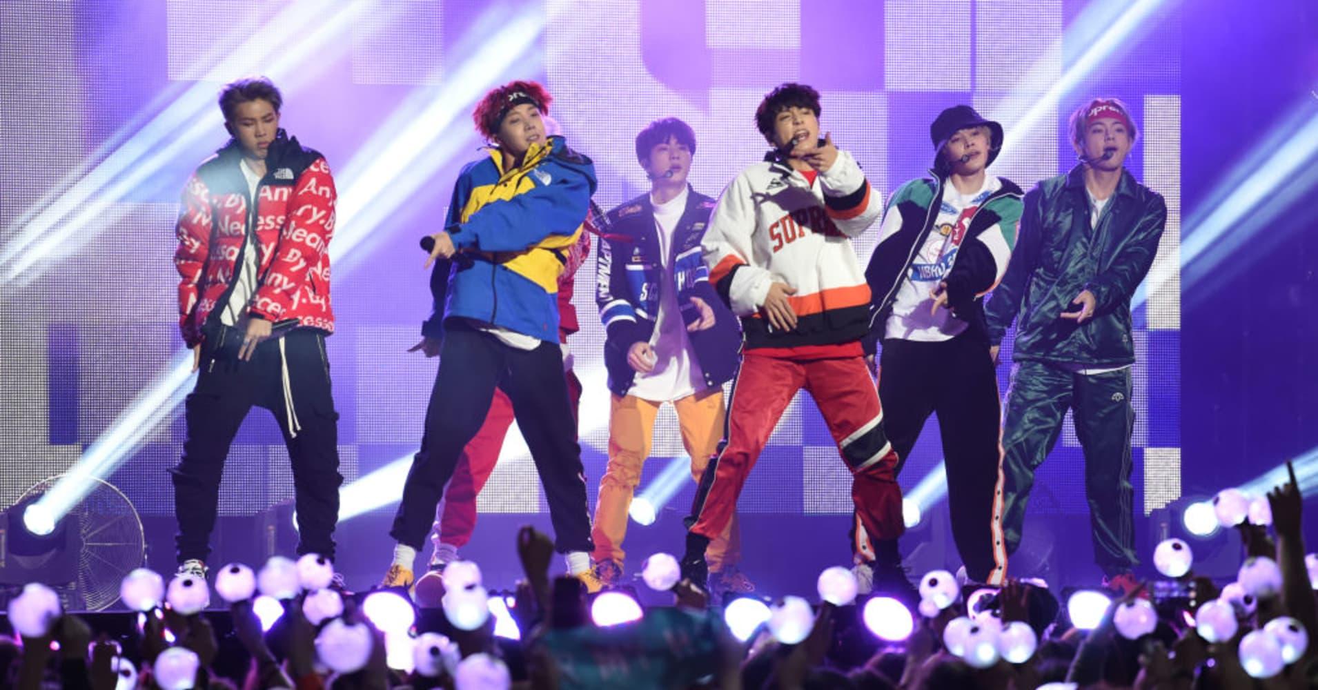 How K-pop band BTS generates billions of dollars for South Korea