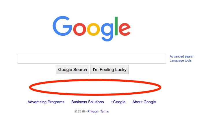 Google Trump 2018