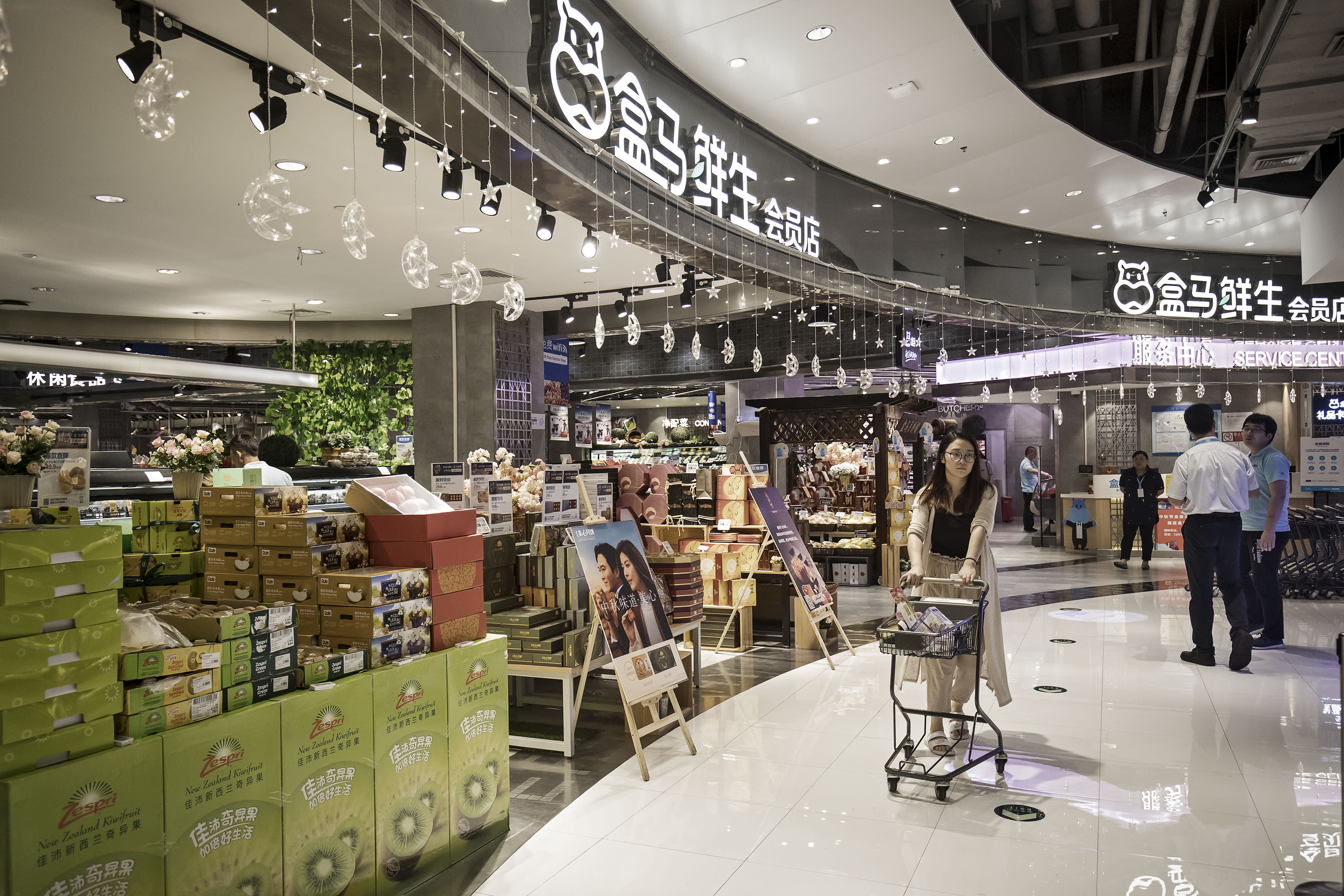 Inside Hema, Alibaba's new kind of superstore: Robots, apps and more