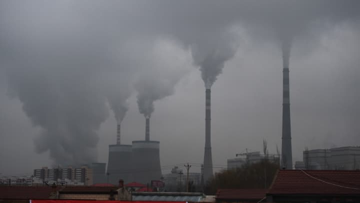 China says its greenhouse gas emissions soar over 50% from 2005 to 2014