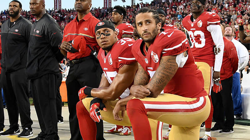 NFL condemns racism, admits 'we were wrong' not to listen to NFL player protests