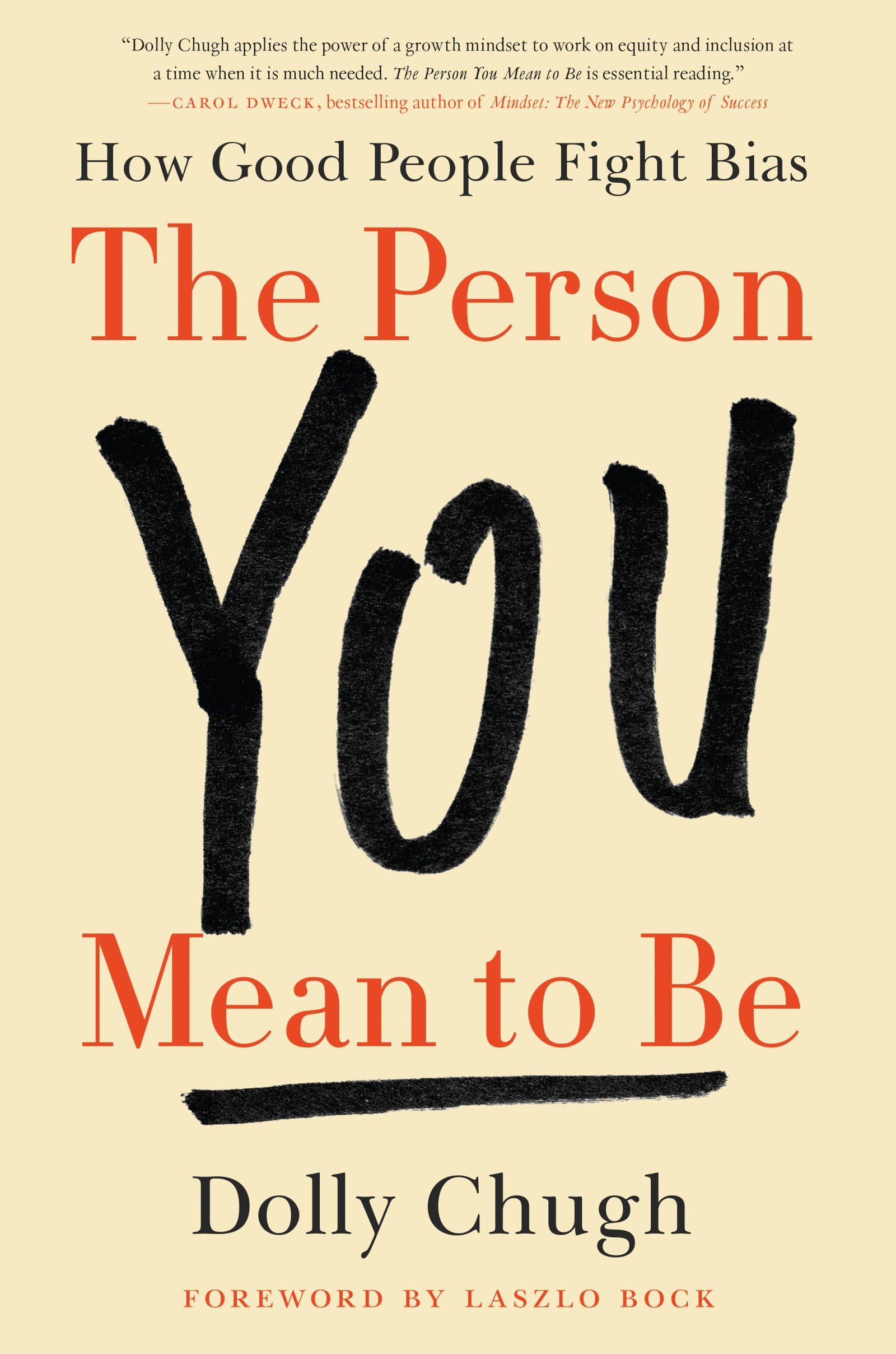 One time use: The person you mean to be book cover